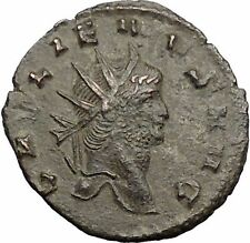 Gallienus son of Valerian I Ancient Roman Coin Pegasus winged Horse  i56392