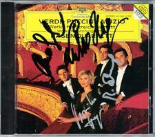 HAGEN QUARTETT Signiert VERDI String Quartet PUCCINI MUZIO Luisa Miller DG CD