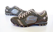 Ladies SKECHERS  leather Trainers Size 3 Good Cond