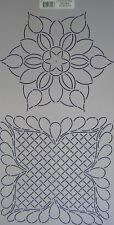 Quilt-Schablone Blumen - Borders Flowers BC1814 ca. 25 x 50,5 cm