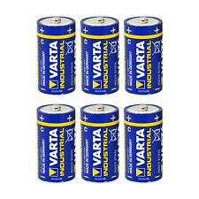 6x Varta Baby C Industrial LR14 MN1400 Batterie 7800 mAh 1,5V Alkaline 6 Stück
