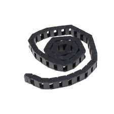 Black Plastic Drag Chain Cable Carrier 10 x 15mm for CNC Router Mill HF
