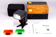 【TOP MINT+++ in BOX】Nikon Speedlight SB-910 AF Shoe Mount Flash from Japan #482