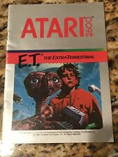 E.T. The Extra-Terrestrial Atari 2600 Instruction Manual Only