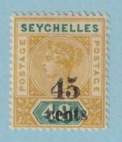 SEYCHELLES 25 MINT HINGED OG*  NO FAULTS EXTRA FINE!