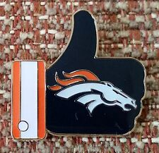 "DENVER BRONCOS ""LIKE"" Thumbs Up Lapel PIN"