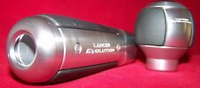 MITSUBISHI LANCER EVOLUTION 10 EMERGENCY BRAKE HANDLE AND SHIFT KNOB EVO X