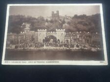 Vagabond King Act 1 Open Air Theatre Scarborough Postcard RPPC