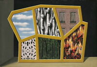 """RENE MAGRITTE Art Poster or Canvas Print """"The Empty Mask"""""""