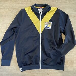 AFL first 18 West Coast Eagles zip up Jumper Jacket XL