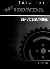 DIGITAL Honda PCX150 2013 2014 2015 2016 2017 PCX 150 service manual
