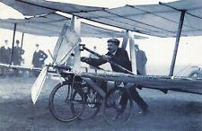 Nostalgia Postcard 1907 Guillon & Clouzy Airplane, Epsom Downs, Repro Card NS19