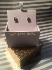 Michael Kors Signature Padlock Earrings