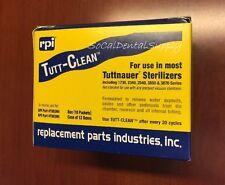 Tuttnauer Sterilizer Autoclave Cleaner Tutt-Clean 10 Pks Chamber Brite Results!