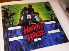"""Flipper Backglass """"Haunted House""""Gottlieb & co. Flipperscheibe Pinball machine"""