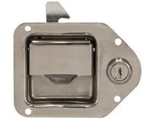 Buyers 8000SSL Stainless Steel Mini Size Tear Drop Style Locking Latch - 2 Keys