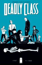 Deadly Class #1 (Cover A, Image Comics) First Print