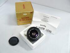Sigma - 35-70mm f/3.5-4.5 Lens for Olympus MF Analog Film Cameras