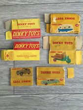 Vintage Collection Of 6 Dinky Original Boxes
