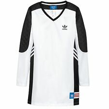Adidas Originals Rita Ora Womens Dress White UK Size 6 NEW AA3885