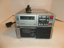 Sony SL-2000 & TT-2000 Betamax Portable Video Recorder & Timer Tuner Unit