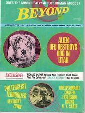 BEYOND magazine October 1969 UFO Destroys Dog & Poltergeist Terrorizes  KY Town