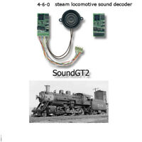 4-6-0 steam locomotive SoundGT2.1 DCC decoder