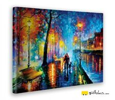 Quadro - Leonid Afremov – Melody of the night - Stampa fine art – Pronto da appe