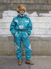 Hen & Cel Sports shiny Damen Skianzug Ski Overall 90er True VINTAGE 90s ski suit