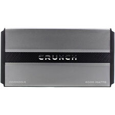 Crunch PD40004 Power Drive Pro Power 4-Channel 4000W Amplifier