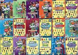 Expansiones Los Sims 2 PC 100 % Originales (Producto Físico)