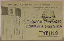 POSTA MILITARE 7^ DIVISIONE 17.7.1916 TIMBRO DI REPARTO #XP253G