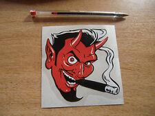 Fumar Diablo-calcomanía / etiqueta adhesiva 100mm ~ Hot-rod / estilo personalizada