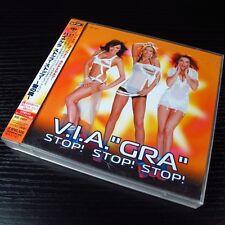"""V.I.A. """"Gra"""" - Stop! Stop! Stop! JAPAN CD+DVD+2 Bonus Tracks W/OBI #0602"""