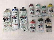(Lot-10 Tubes) Oil Paints W. Alexanders Magic Oil Color - USED