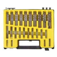 Foret 150 Pieces 0.4MM-3.2 MM Foret en HSS Titane Acier a Haute Vitesse H4L7