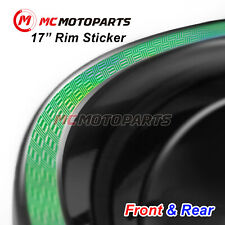 Holographic Laser Silver Chrome Rim Sticker For Ducati 1299 959 Panigale 1199(Fits: Ducati SS)