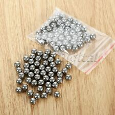 100X 7mm Carbon Steel Balls Catapult Slingshot Grade Steel Ball Bike Bearing Use
