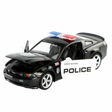 1:32 Ford Mustang GT Police Model Car Alloy Diecast Gift Toy Vehicle Black Kids
