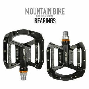 "9/16"" Pedals Cycling Mountain MTB BMX Bike Bicycle 3 Bearing Flat-Platform Pedal"