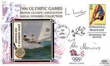 1996 Atlanta Olympic Games Merricks & Walker Benham Signed Commemorative Cover