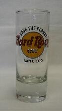 Hard Rock Cafe Save Planet San Diego Souvenir Double Shooter Bar Shot Glass
