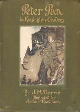 PETER PAN IN KENSINGTON GARDENS-J.M.BARRIE-1913-ILLUSTRATED BY ARTHUR RACKHAM!