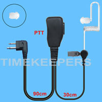 Acoustic PTT/VOX Headset/Earpiece icom IC F11 F15 F25 F43TR F50 F3011 F4011 A4