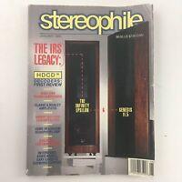 Stereophile Magazine January 1995 The Infinity Epsilon & Genesis 11.5, Newsstand