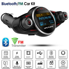 Wireless Car Kit Bluetooth FM Transmitter MP3 Player Audio Adapter USB Charger