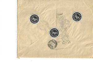 3 Sigils Τράπεζα THC Ελλάδoc 1928 Bank Greece registered R Kravala 1953 D; 60391