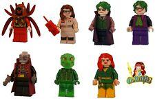 Custom LEGO minifigure Choice of Any Superheroes Batman Azrael Joker UV Print