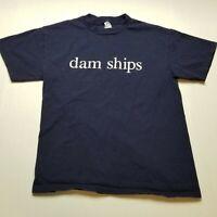 Holland America Cruise Line T-Shirt Mens M Dam Ships ?68