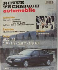 revue technique automobile RTA AUDI A4  1.6 - 1.8 - 1.8 T - 1.9 TDI n° 581